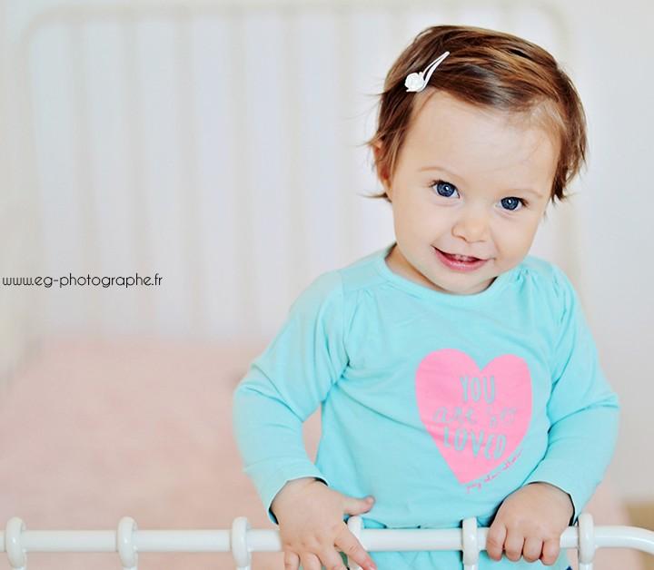 Photographe bébé studio Bouches du Rhône - Giulia 11 mois